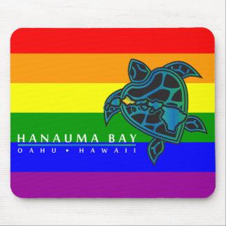 Hanauma Bay Hawaii Islands Turtle Mouse Pads