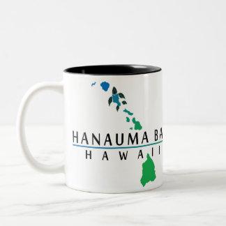 Hanauma Bay - Hawaii Islands Two-Tone Coffee Mug