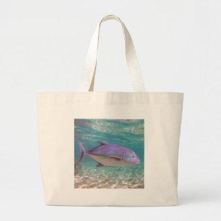 Hanauma Bay Hawaii Jack Fish - Ulua Tote Bag