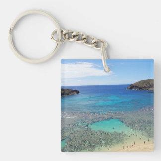 Hanauma Bay Hawaii Keychain