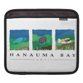 Hanauma Bay Hawaii Marine Life Sleeve For iPads