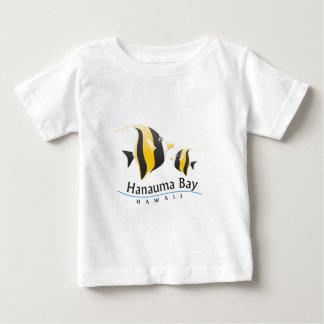 Hanauma Bay Hawaii Moorish Idol Fish Baby T-Shirt