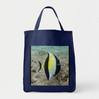 Hanauma Bay Hawaii Moorish Idol Fish Bag