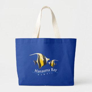 Hanauma Bay Hawaii Moorish Idol Fish Tote Bags