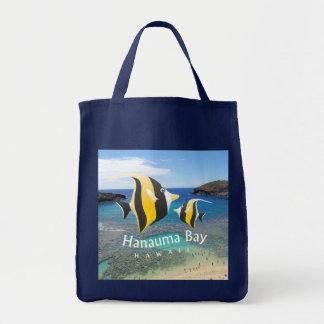 Hanauma Bay Hawaii Moorish Idol Fish Bags