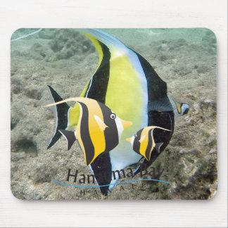 Hanauma Bay Hawaii Moorish Idol Fish Mouse Pad