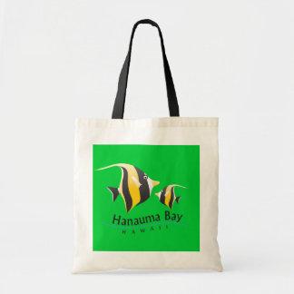 Hanauma Bay Hawaii - Moorish idol Tote Bag