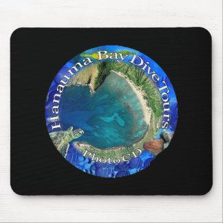 Hanauma Bay Hawaii Mouse Pads