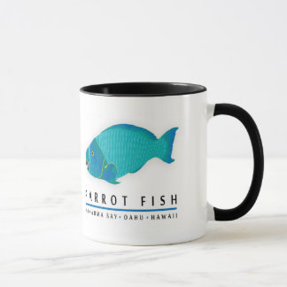 Hanauma Bay Hawaii Parrot Fish Mug