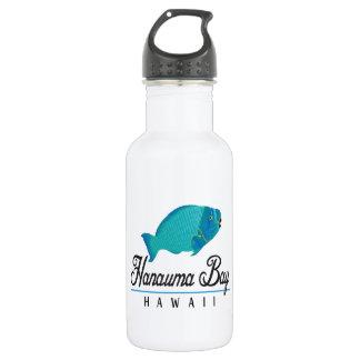 Hanauma Bay Hawaii Parrot Fish 18oz Water Bottle