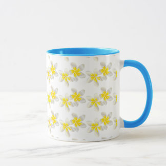 Hanauma Bay Hawaii Plumeria Flower Coffee Mug