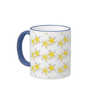 Hanauma Bay Hawaii Plumeria Flower Coffee Mug