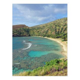 Hanauma Bay Hawaii Post Card