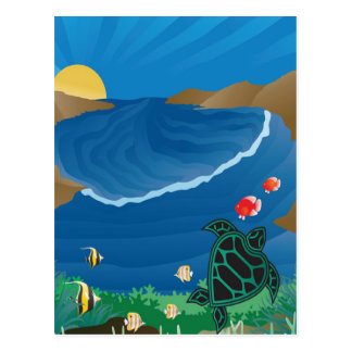 Hanauma Bay Hawaii Postcard