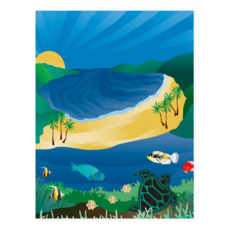 Hanauma Bay Hawaii Postcards