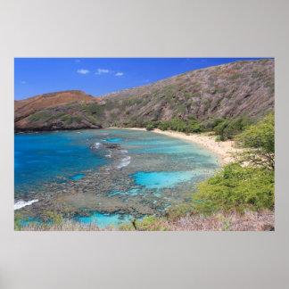 Hanauma Bay, Hawaii Poster