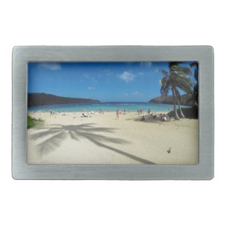 Hanauma Bay Hawaii Rectangular Belt Buckle