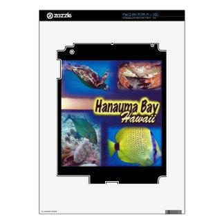 Hanauma Bay Hawaii Decals For The iPad 2