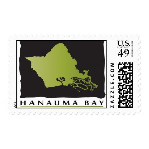 Hanauma Bay Hawaii Stamp