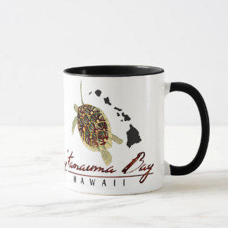 Hanauma Bay Hawaii Turtle and Hawaii Islands Mug