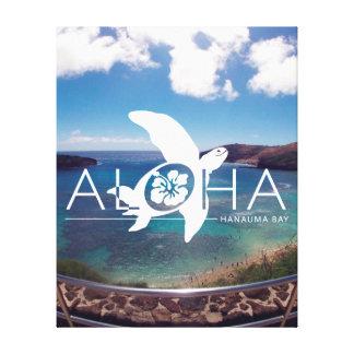 Hanauma Bay Hawaii Turtle Canvas Print