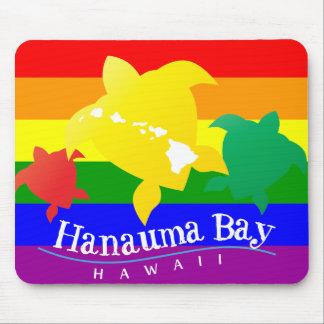 Hanauma Bay Hawaii Turtle Mousepads