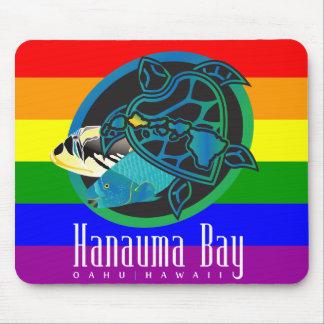 Hanauma Bay Hawaii Turtle Mouse Pads