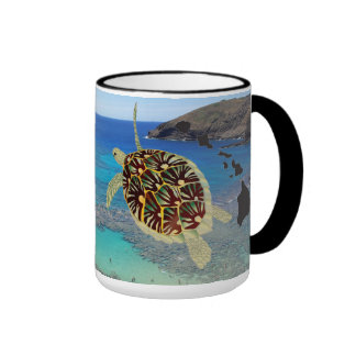 Hanauma Bay Hawaii Turtle Mug