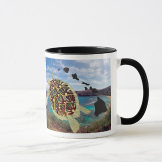 Hanauma Bay Hawaii Turtle Mug