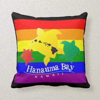 Hanauma Bay Hawaii Turtle Pillows