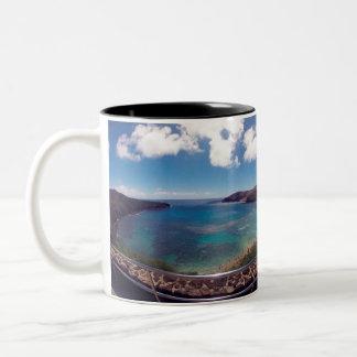 HANAUMA BAY HAWAII Two-Tone COFFEE MUG
