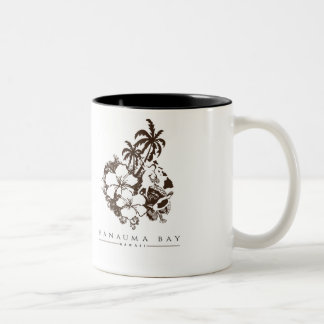Hanauma Bay Hawaii Two-Tone Coffee Mug