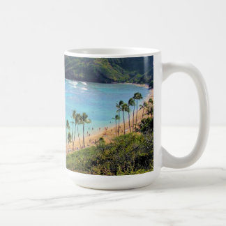 Hanauma Bay, Honolulu, Oahu, Hawaii View Coffee Mug