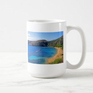 Hanauma Bay, Honolulu, Oahu, Hawaii View Coffee Mug