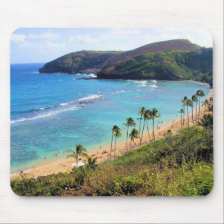 Hanauma Bay, Honolulu, Oahu, Hawaii View Mouse Pad