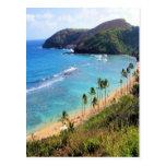 Hanauma Bay, Honolulu, Oahu, Hawaii View Postcard
