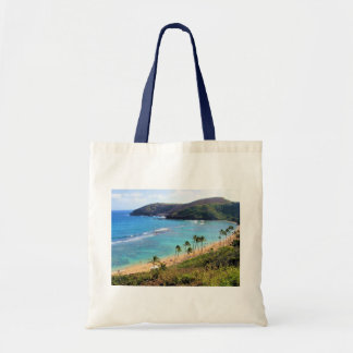 Hanauma Bay, Honolulu, Oahu, Hawaii View Tote Bag