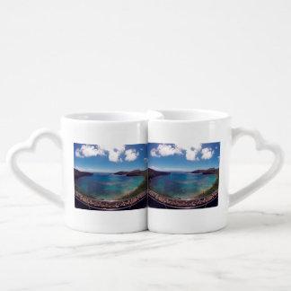 Hanauma Bay Oahu Hawaii Coffee Mug Set
