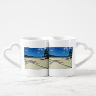 Hanauma Bay Oahu Hawaii Couples Coffee Mug