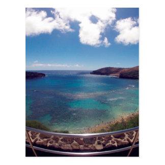 Hanauma Bay Oahu Hawaii Post Card