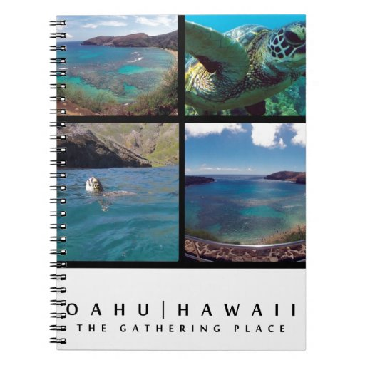 Hanauma Bay - Oahu hawaii Spiral Note Book