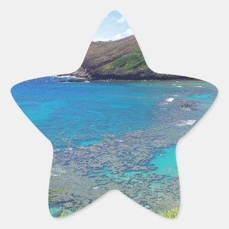 Hanauma Bay Oahu Hawaii Star Sticker