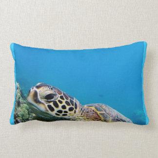 Hanauma Bay Oahu Hawaii Turtle Pillows