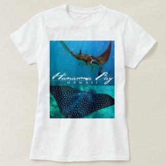 Hanauma Bay Oahu Manta and Spotted Eagle Ray T-Shirt