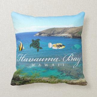 Hanauma Bay Oahu Turtle Pillow
