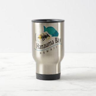 Hanauma Bay Parrot & Trigger Fish Travel Mug