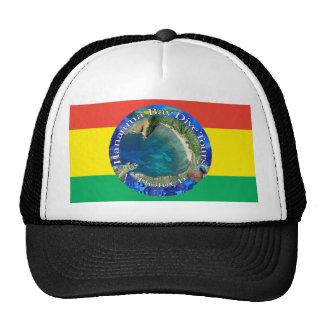 Hanauma Bay Reggae Flag Trucker Hat