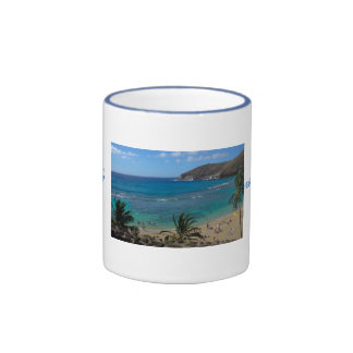 Hanauma Bay Ringer Coffee Mug