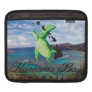 Hanauyma Bay Hawaii Turtles Sleeve For iPads