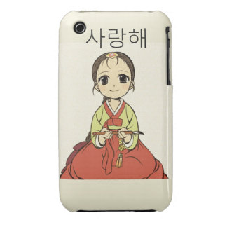 hanbok iPhone 3 cover